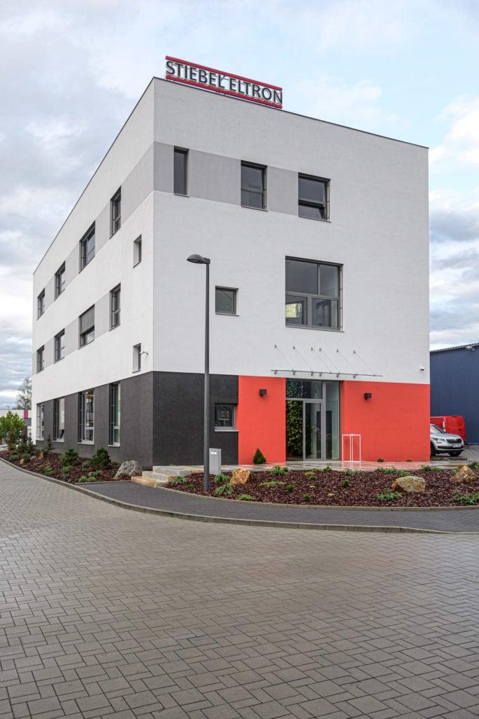 nové sídlo společnosti STIEBEL ELTRON